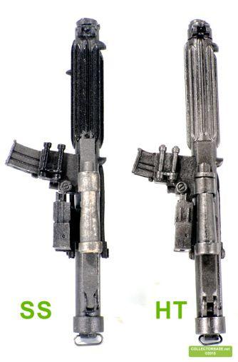 Auch das E-11 unterscheidet sich in vielen Details von der Sideshow Version