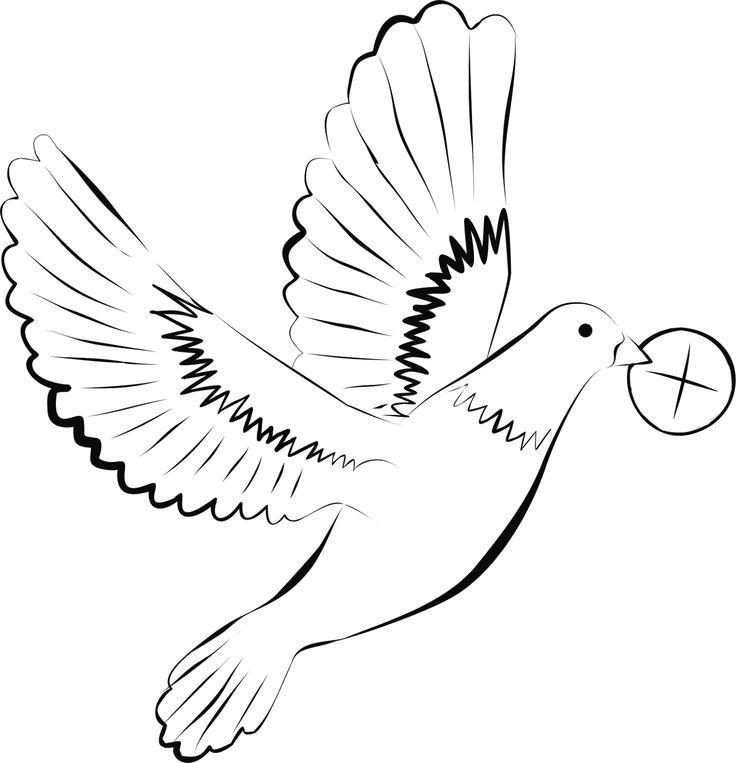 Digi stemple by AliceCreations: 33. Pierwsza Komunia Święta - Gołąbek