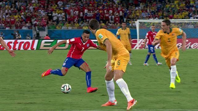 Chile x Austrália - Copa do Mundo 2014 | globoesporte.com
