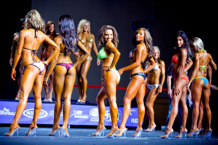 Bikini Competition Diet. Less strict than a fitness competition diet.