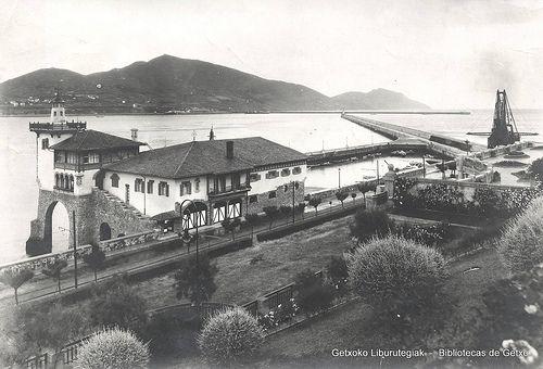Sorospen-etxea / Estación de Salvamento de Náufragos, en Arriluze, 1918 (ref. 00272)