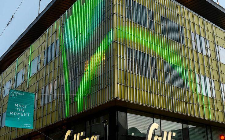 Salling har lavet sig en ny facade i kraft af en en lyssætning