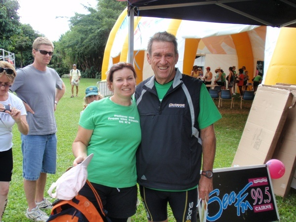 1st 5klm run, Cairns with Bob from The Biggest Loser