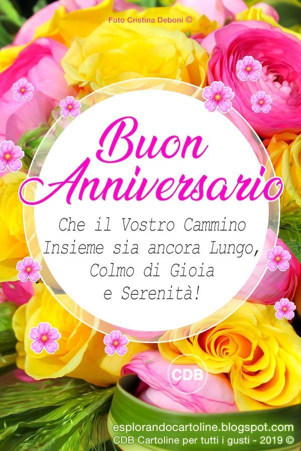 Cdb Cartoline Per Tutti I Gusti Cartolina Buon Anniversario Che Buon Anniversario Buon Compleanno Anniversario