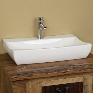 White Rectangle Vessel Sink Shapeyourmindscom