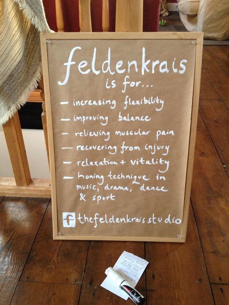 What is Feldenkrais for?