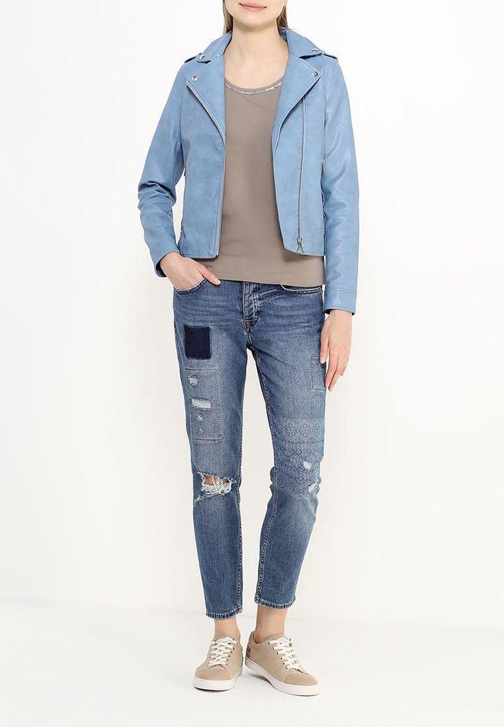 Куртка кожаная Dorothy Perkins купить за 5 499 руб DO005EWSQM27 в интернет-магазине Lamoda.ru