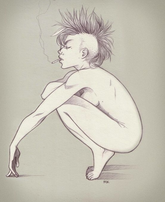 Punk life. ✤ || CHARACTER DESIGN REFERENCES | Find more at https://www.facebook.com/CharacterDesignReferences if you're looking for: #line #art #character #design #model #sheet #illustration #expressions #best #concept #animation #drawing #archive #library #reference #anatomy #traditional #draw #development #artist #pose #settei #gestures #how #to #tutorial #conceptart #modelsheet #cartoon