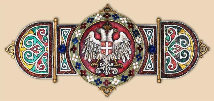 kopča sa plašta Kralja Petra I  -  the belt of sheath from King Peter I