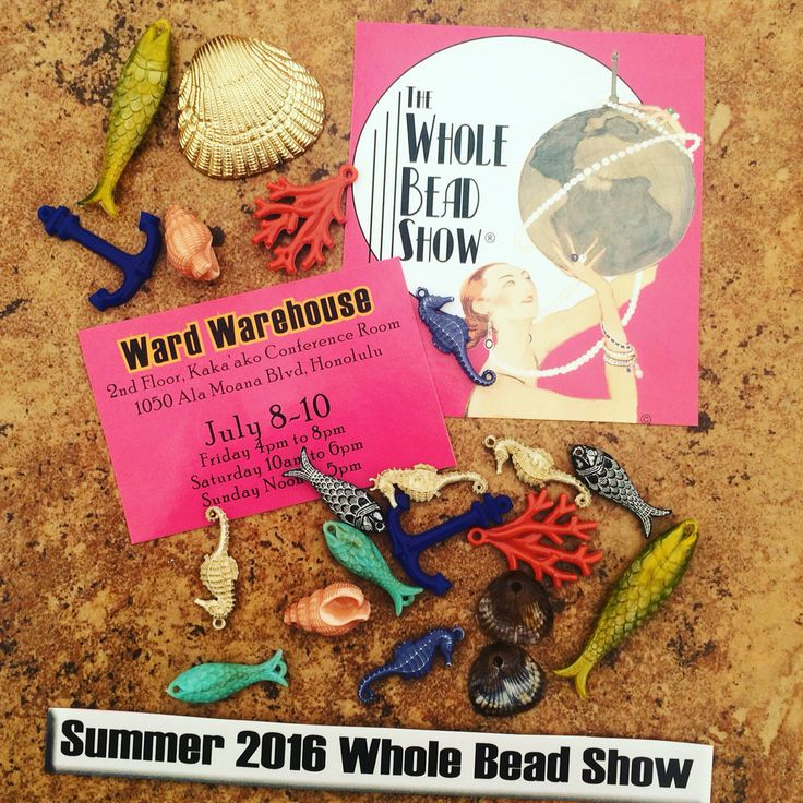 17 best images about honolulu hawaii whole bead show on