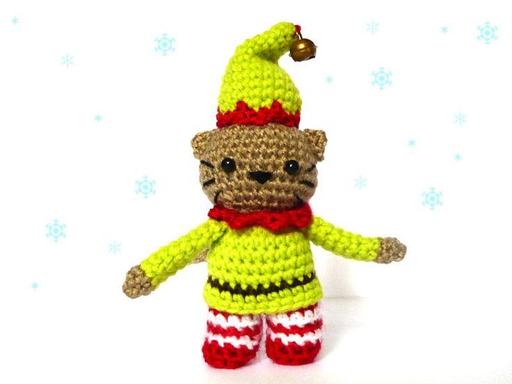 Easy Christmas Amigurumi : 11 best crochet cats images on pinterest crochet cats amigurumi