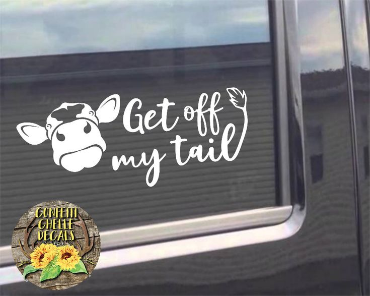 Heifer Decal Cow Decal Car Decal Truck Decal Get
