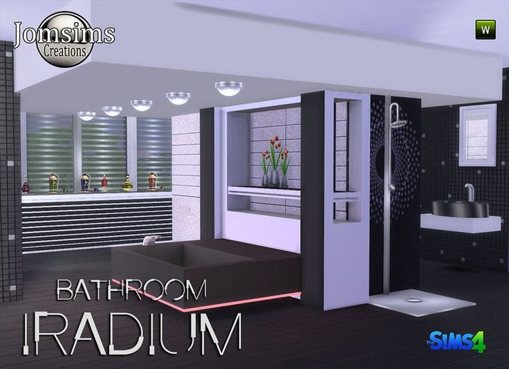 17 best images about salle de bain sims 4 on pinterest