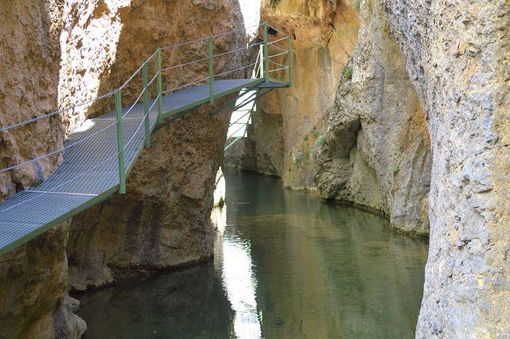 Calomarde y El Barranco de la Hoz