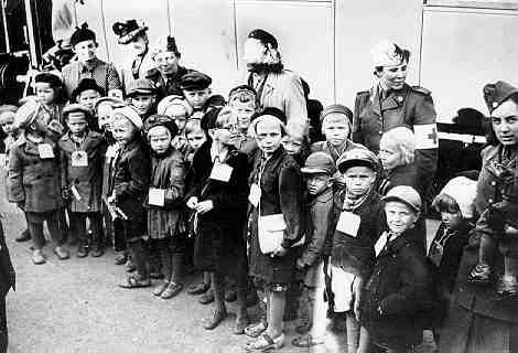 During World War II some 70,000 Finnish children (Finnish: sotalapset, the 'war children' Swedish: krigsbarn) were evacuated from Finland, chiefly to Sweden, but also to Norway and Denmark.