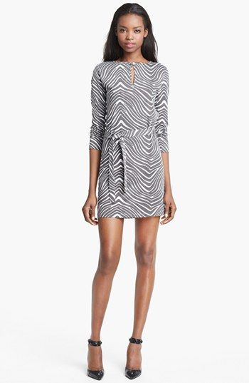 A.P.C. Zebra Print Jersey Dress available at #Nordstrom