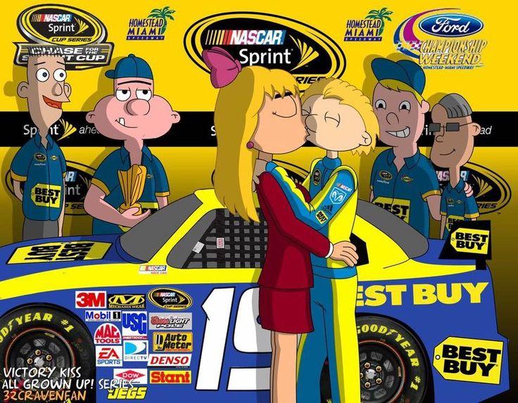 Hey Arnold  NASCAR  Arnold as a NASCAR Winner