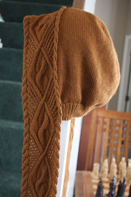 Cable Knit Hooded Scarf                                                                                                                                                      More