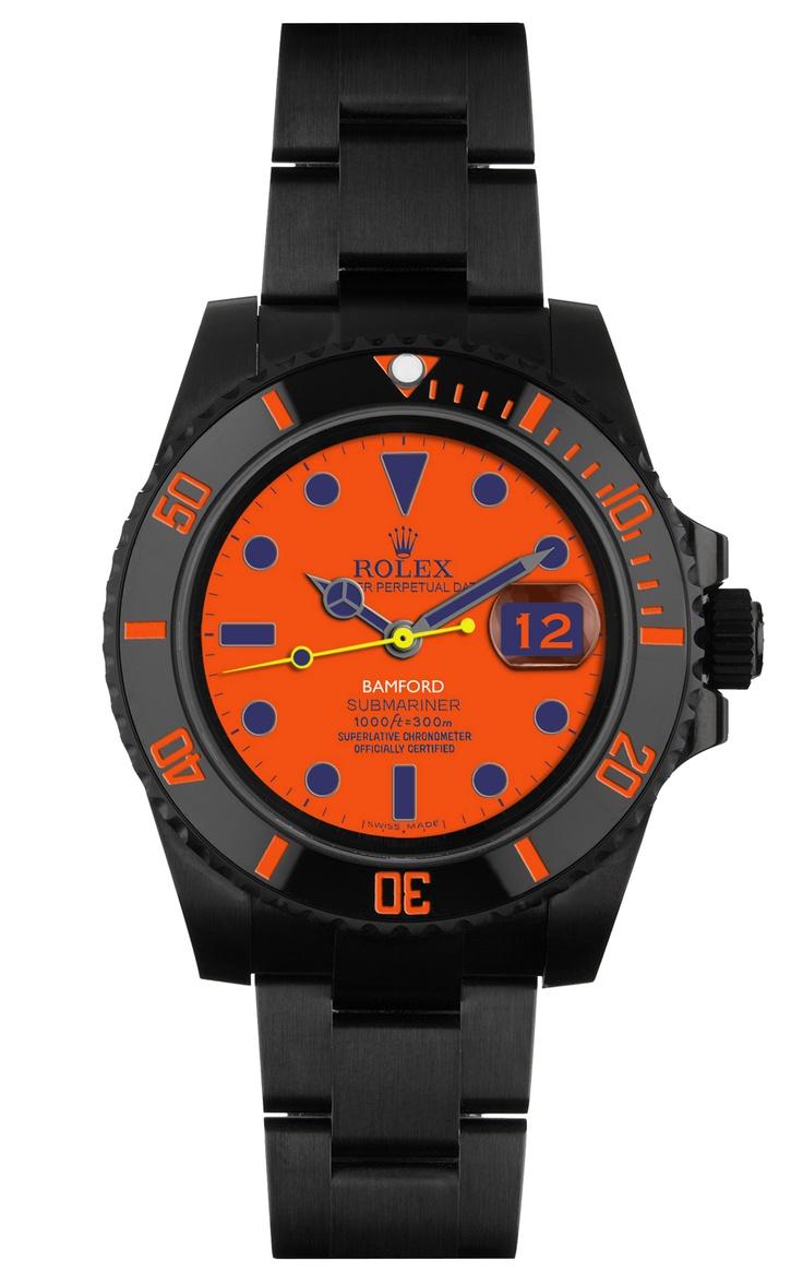 Peter Davis' Customized Submariner Watch