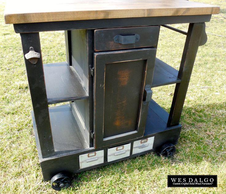 Alera Industrial Kitchen Carts At Lowes Com: Best 25+ Industrial Kitchen Island Ideas On Pinterest
