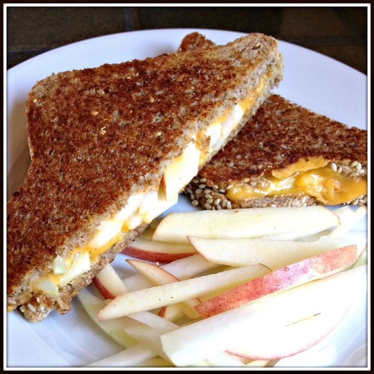 Grilled Cheese with Apples, Dijon and Kohlrabi Recipe - The Lemon Bowl