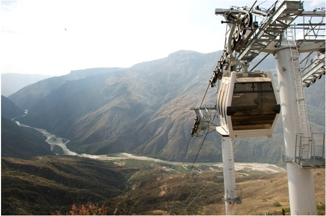 Cable Cars, Canón del Chicamocha