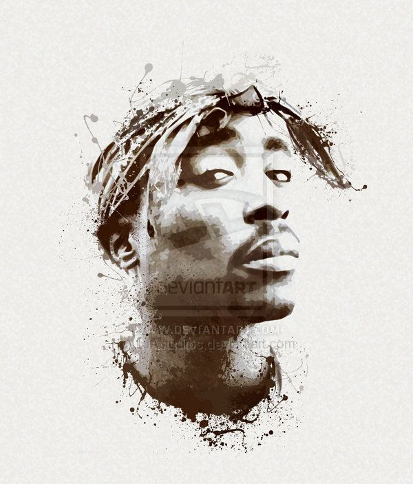 17 Best Images About Tupac Art On Pinterest