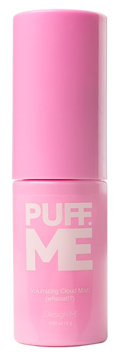 The.First.Ever...Volumizing powder spray in a pump.Puff.ME is multi-faceted, it creates MEGA volume on damp or dry hair. Great for braids, updo's and all hair textures