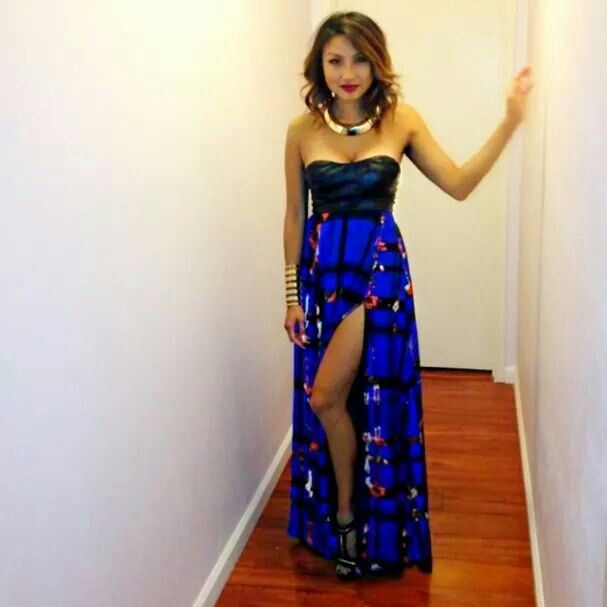 Jeannie Mai of The Real Daytime  Show - FAB dress <3 !