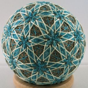 A lovely Temari Ball.
