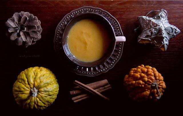 Widzimrka: Korzenna zupa dyniowa na słodko / Sweet and spicy pumpkin soup