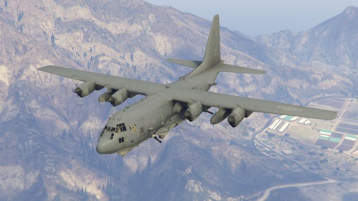 Lockheed AC-130U Spooky gunship