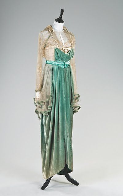 Evening Dress  Lucille  c.1912-1913  Kerry Taylor Auctions