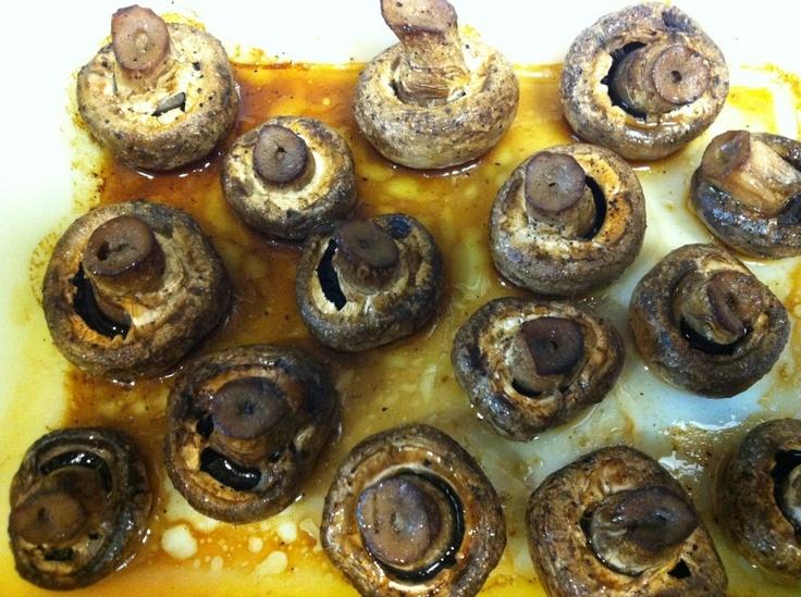 ... | Oven Roasted Mushrooms, Marinated Mushrooms and Roasted Mushrooms