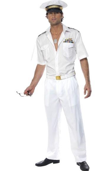 Official Top Gun Captain Costume | Jokers Masquerade
