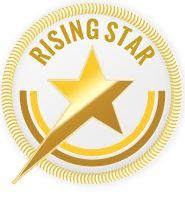 "The ""Rising Star"" award for the digital art piece (A Sprung Beauty)."