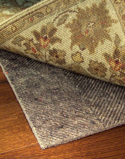 Ultra Premium Rug Pad Prevents Rug Movement. Great For All Floor Surfaces!  Made Of