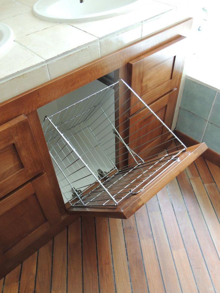 Meuble salle de bain avec bac a linge maison design for Meuble linge