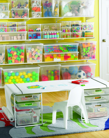 Organize need to do this to the play room