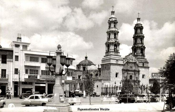 Catedral de Cd. de Aguascalientes Mexico Historia de