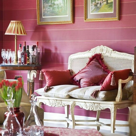 330 best Interiors / Pink images on Pinterest | Spaces, Dining rooms ...