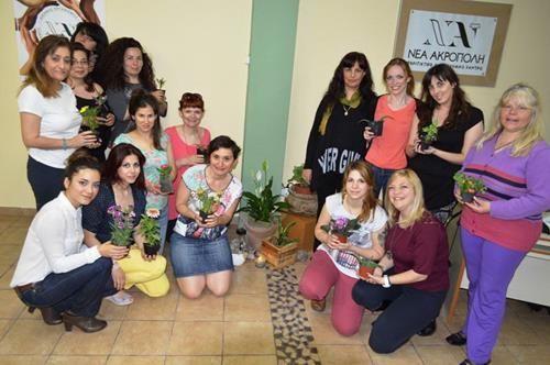 """Επιμορφωτικό σεμινάριο """"Η μυστική ζωή των φυτών""""  #νεαακροπολη #neaacropoli #φυτα #φροντιδα #flowers #λουλουδια"""