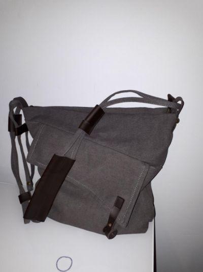 Hot-sale designer Women Vintage Messenger Bag Genuine Leather Canvas Crossbody Bag Tribal Rucksack Online - NewChic Mobile