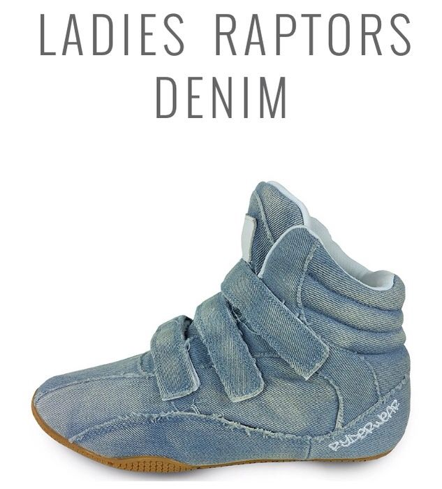 new ladies denim ryderwear raptors!! Wishlist item :D