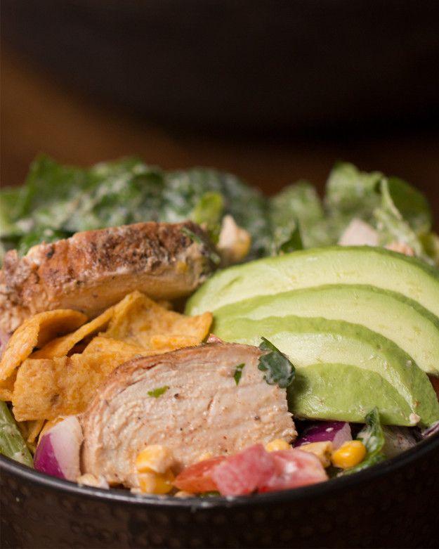 Rainbow Grilled Chicken Salad | Rainbow Grilled Chicken Salad