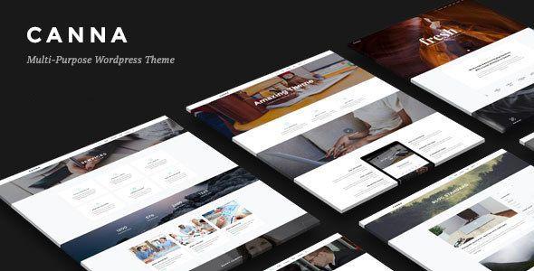 Canna - Creative Elegant WordPress Theme