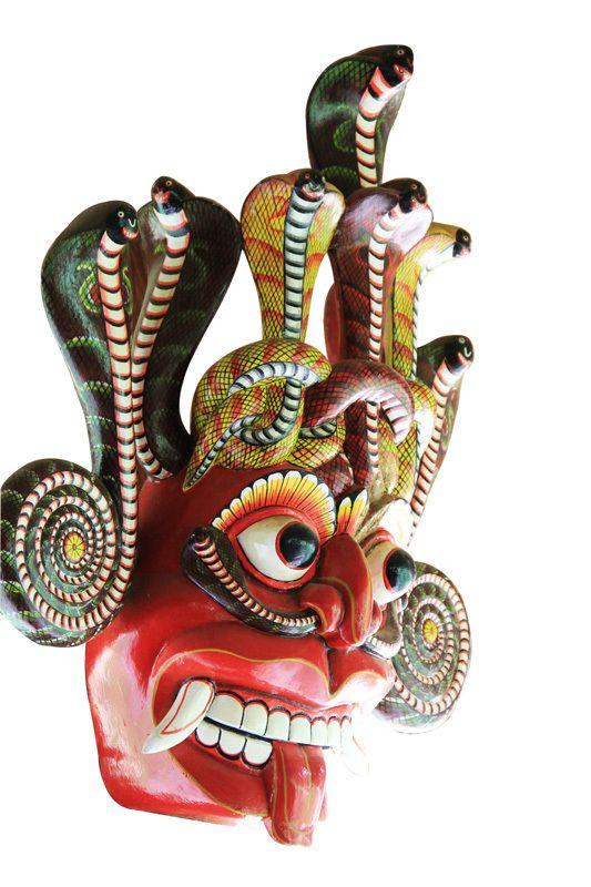 CeyPearl.com - Naga Raksha - Cobra Mask, $601.89 (http://www.ceypearl.com/naga-raksha-cobra-mask/)