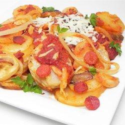 Slow Cooker Pizza Potatoes - Allrecipes.com
