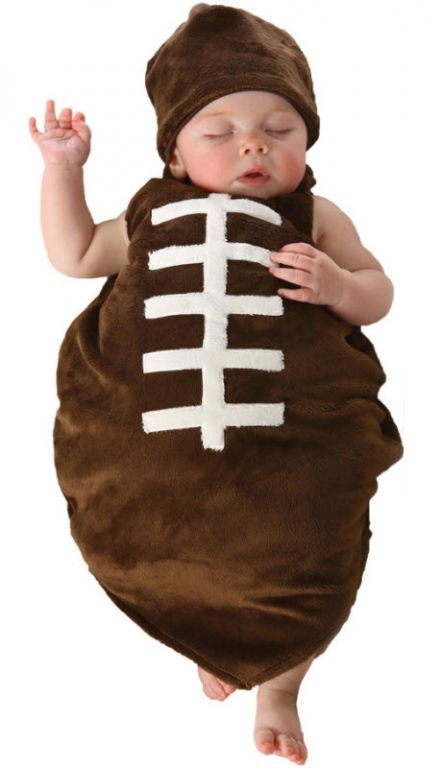 Think, Football baby costume sorry