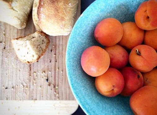 French apricots & sourdough